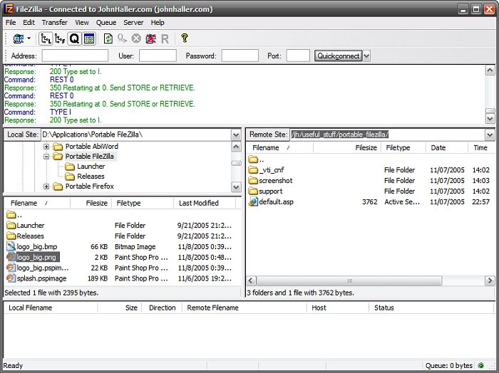 Скачать FileZilla Portable v.3.24.0