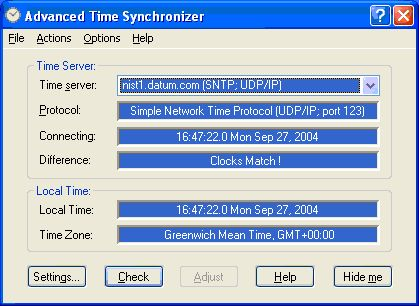 Скачать Advanced Time Synchronizer v.4.3.808