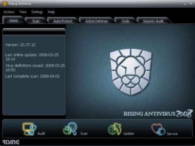 Скачать Rising Antivirus Free Edition v.23.01.51.84