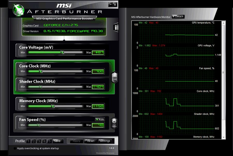 Скачать MSI Afterburner v.4.3.0.9267 / 4.4.0 Beta 10